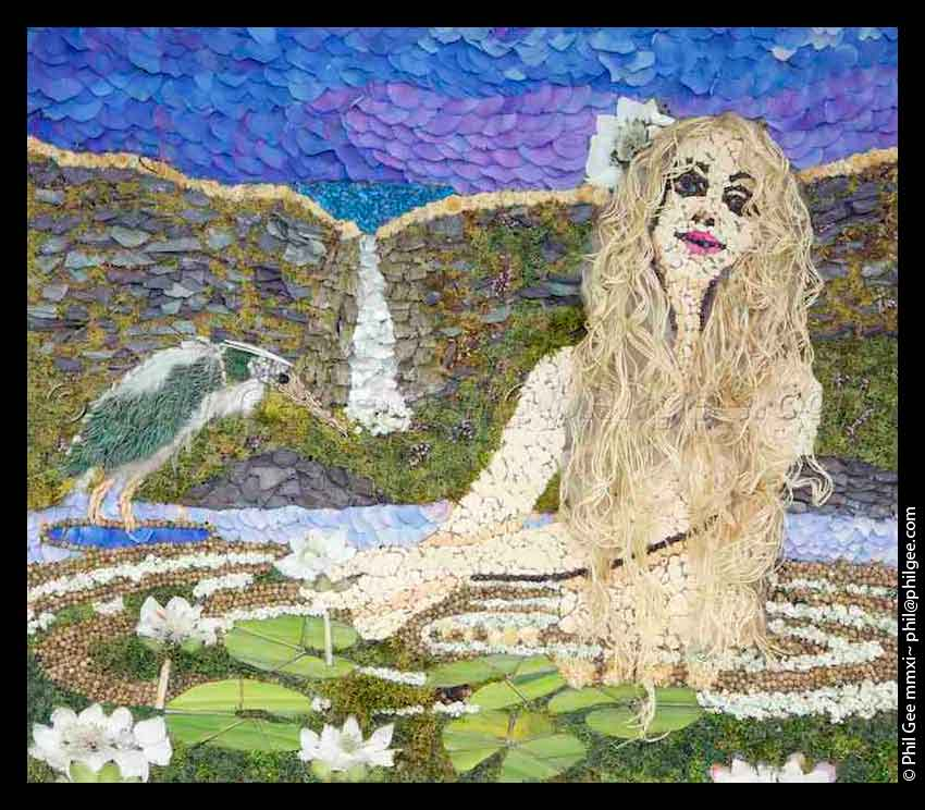 Little Hayfield Well the Mermaid of Kinder © Phil Gee